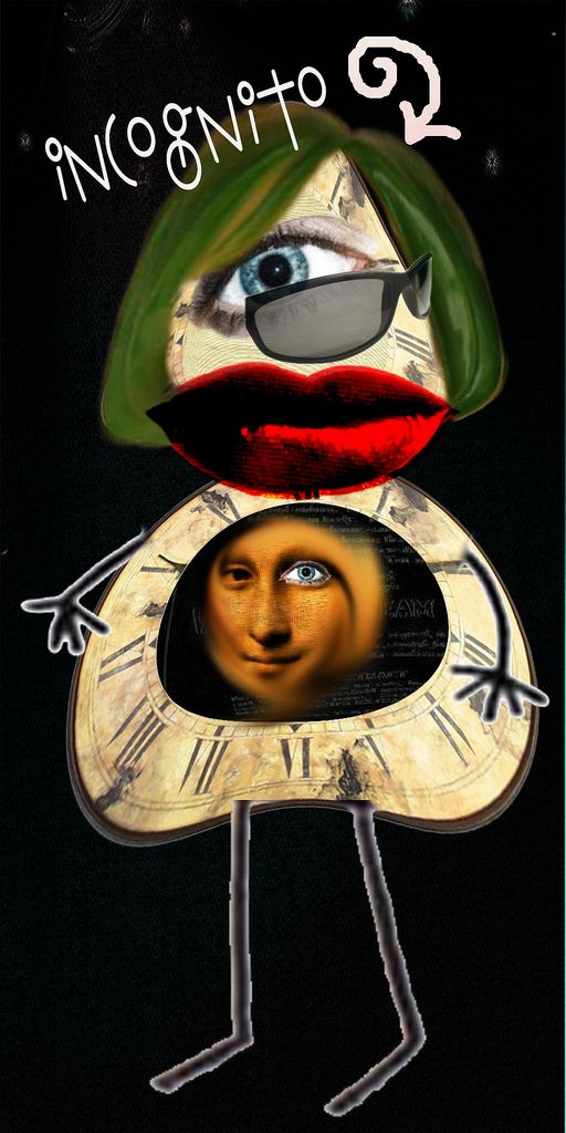 Incognito Mona Lisa Artist Art
