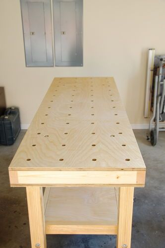 Mobile Torsion Box Workbench 2 Design And Features By Ron Stewart Lumberjocks Com