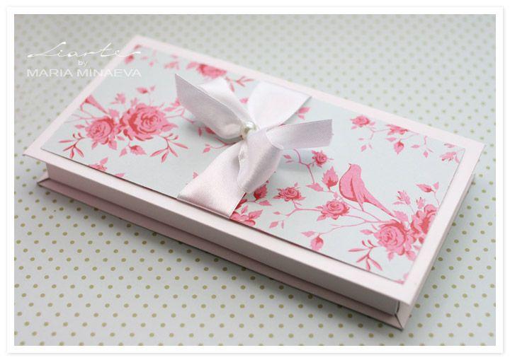 Как сделать коробку ( сундучок ) для денег на свадьбу или для