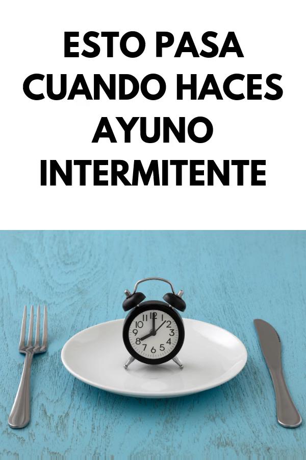 Como hacer la dieta del AYUNO INTERMITENTE