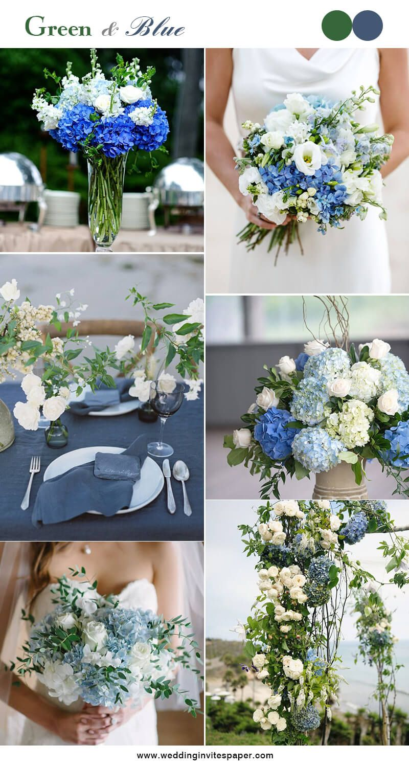 Wedding decoration ideas colors   Hottest Green Color Combos To Brighten Your Big Day  Wedding