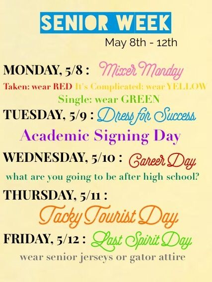 senior week candy gram football | Football homecoming ... |Senior Week Ideas