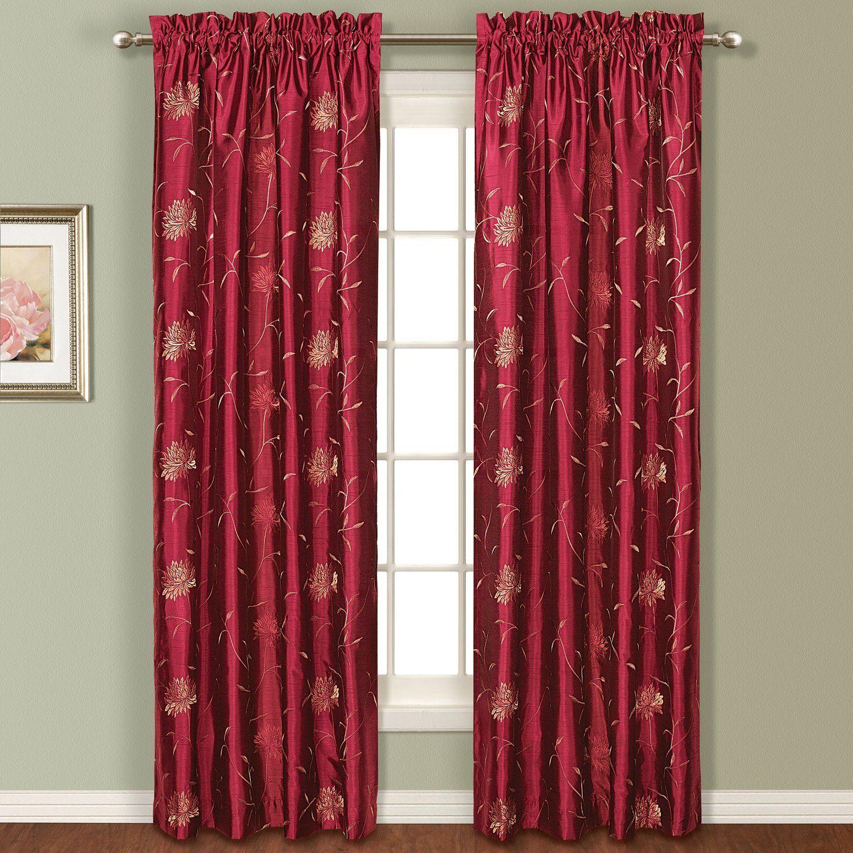 AmazonSmile United Curtain Avalon Window Curtain Panel 54 by 84