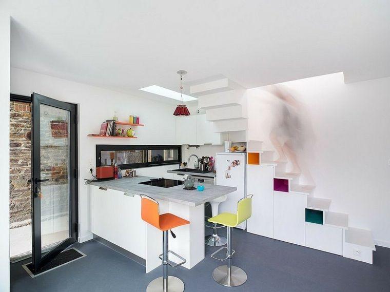 am nagement sous escalier propositions originales. Black Bedroom Furniture Sets. Home Design Ideas