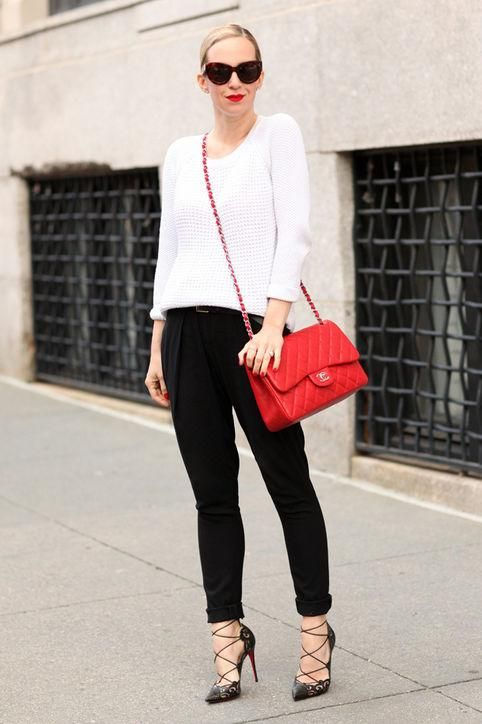 ce51aec515d 50 super chic black and white outfit ideas we love