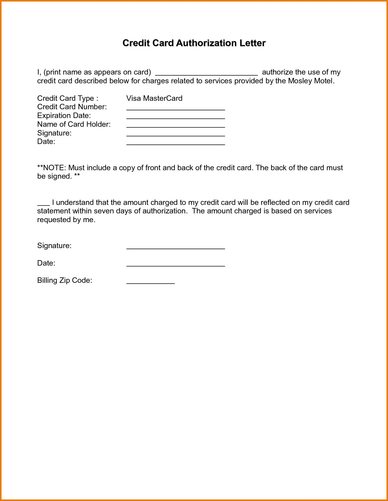 Authorization letter sample authorization letter pdf in