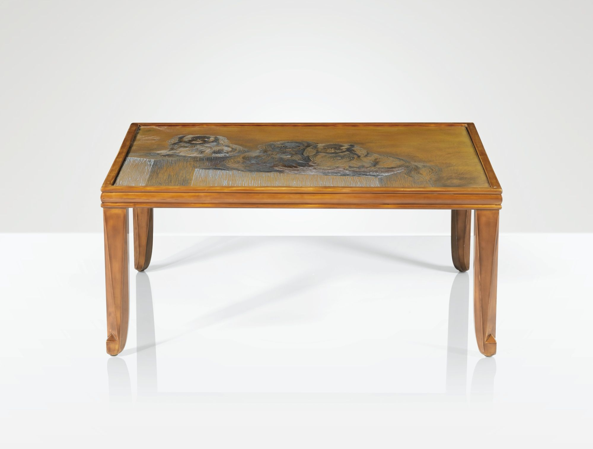 Jean Dunand 1877 1942 Table Basse Vers 1928 A Polychrome Lacquer Occasional Table By Jean Dunand Circa 1928 Si Art Deco Furniture Sheet Metal Crafts Table