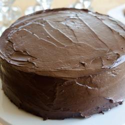 Bolo de chocolate vegano @ allrecipes.com.br