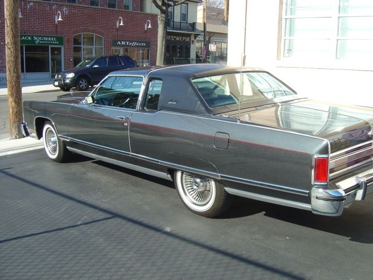 Lincoln : Town Car Town Coupe in Lincoln | eBay Motors | Cars ...