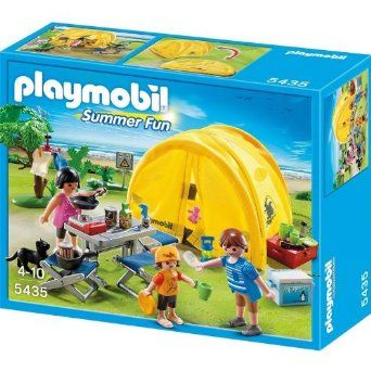 Buy Playmobil 70089 Tent with Camping