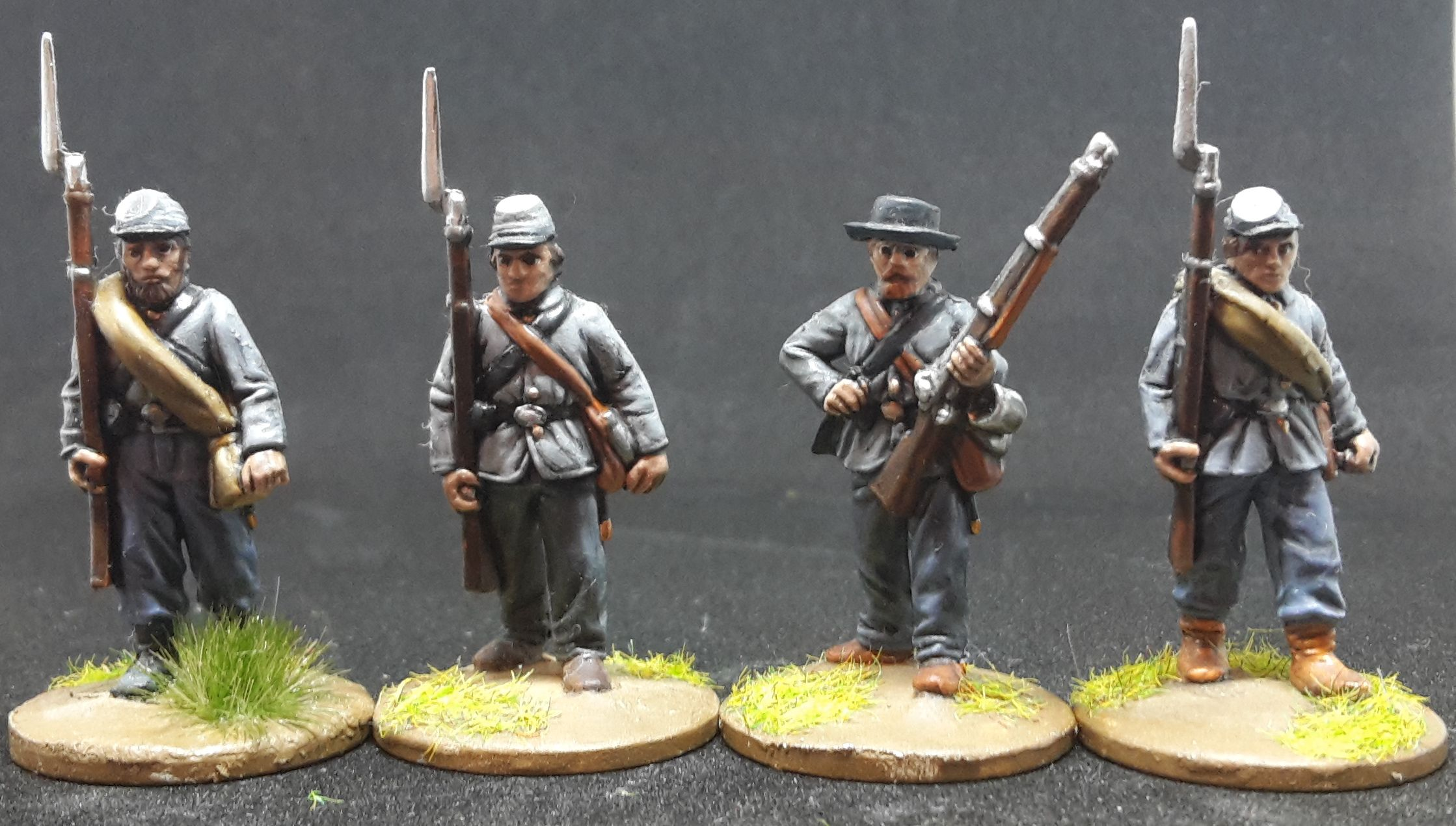 28mm Union Generals Mounted Perry ACW3
