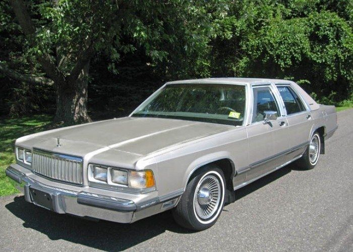 1990 Mercury Grand Marquis  Vehicles of The 90s  Pinterest