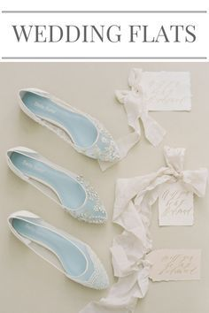 Bella Belle reinvented the ultimate wedding flats. They are delicate, glam, or romantic -- all are comfortable! Perfectly complement your wedding look with the Something Blue sole. Enjoy your wedding dance with these shoes on.