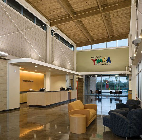 Perry Family YMCA (League City, TX) Reno Lounge With