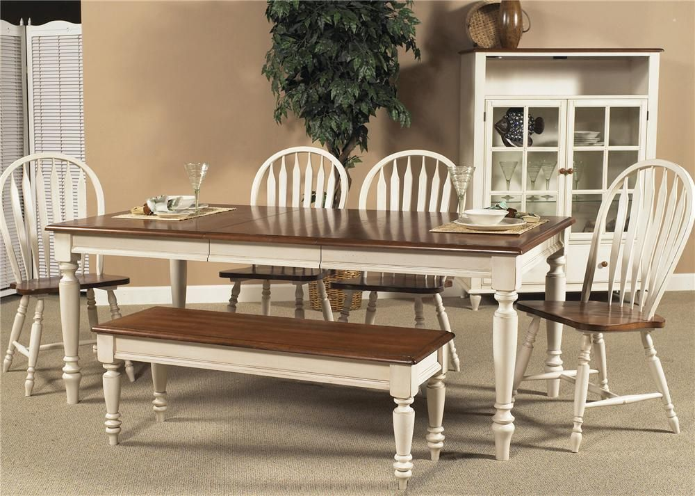 Six Piece Dining Set With Turned Legs Old TablesDining Room TablesKitchen