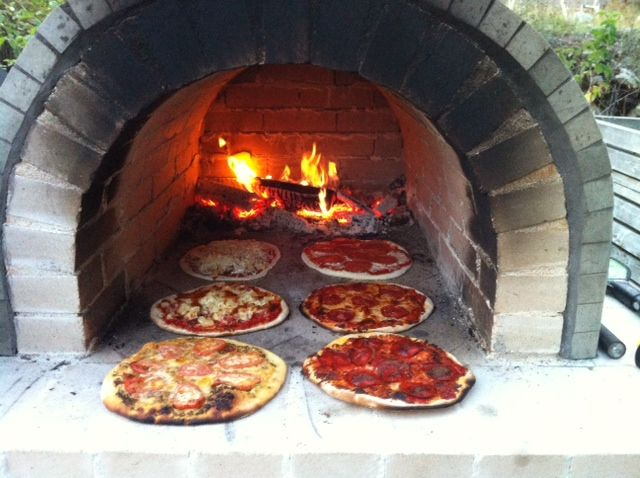 The Reimer Family Wood Fired Brick Pizza Oven In Bc Canada