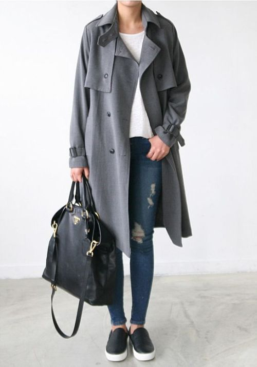 12e2c3ed9247 How to rock the slip on shoes in winter – Just Trendy Girls