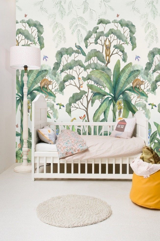 Jungle Wall Mural Wallpaper Removable Peel & Stick