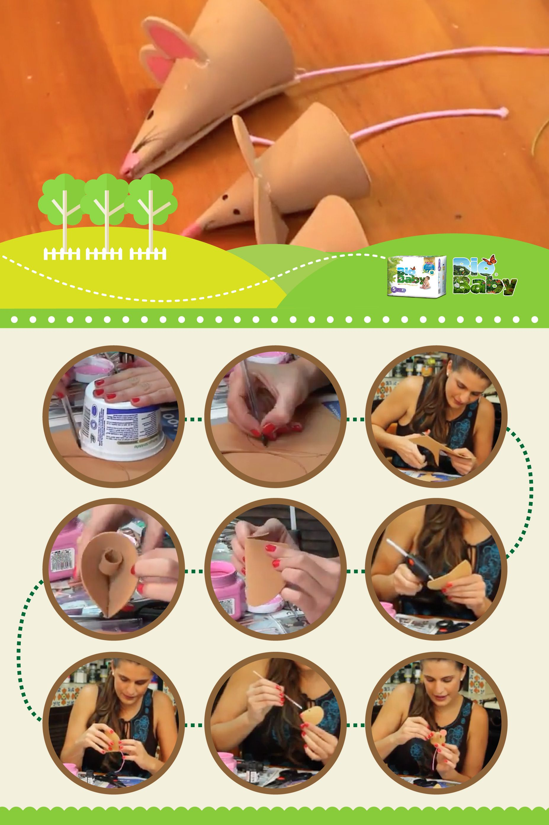 Diviértete creando historias con estas marionetas de ratoncitos para niños pequeños https://www.youtube.com/watch?v=gBsalpelO7M