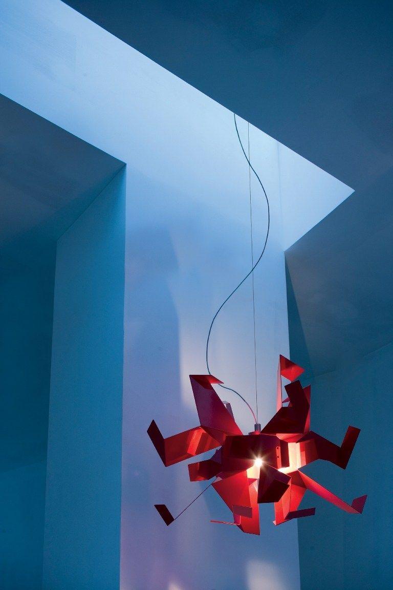 Pendant #lamp GLOW SQUARE by Pallucco | #design Enrico Franzolini, Vicente Garcia Jimenez @Pallucco