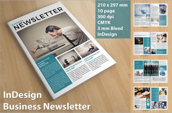 Multipurpose Newsletter Template by voryu on Creative Market - business newsletter