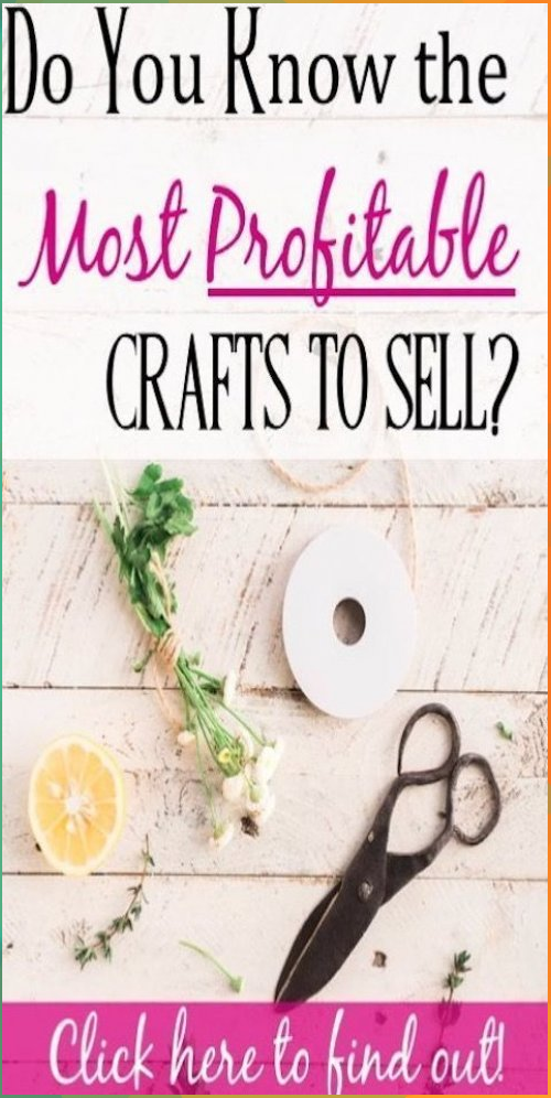 13++ Most profitable crafts to sell 2020 ideas