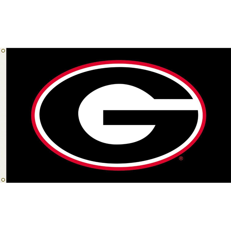 Georgia Bulldogs 3ft X 5ft Team Flag Logo Design 3 Georgia Bulldogs Georgia Dawgs Bulldog Wallpaper