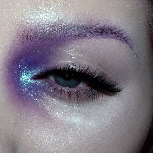 Instagram Post by Nikki Hinds (@nikkitaylorhinds) Make up, Purple