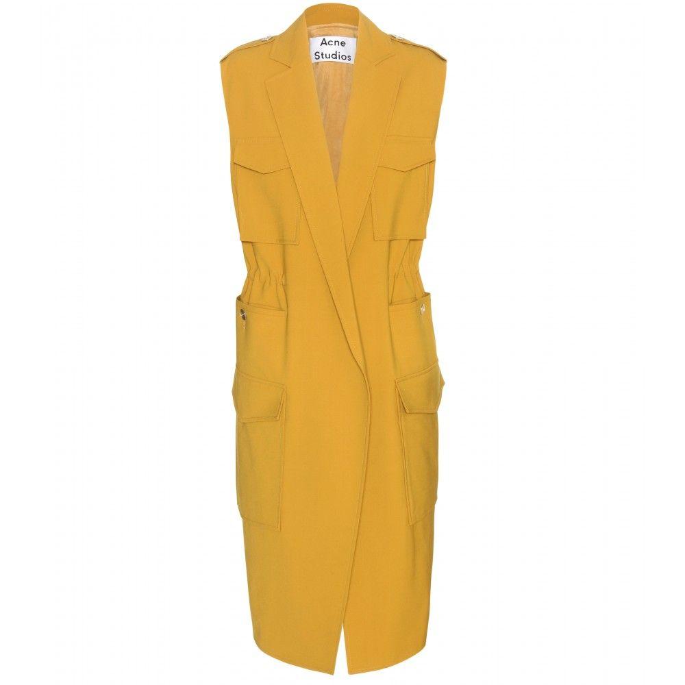 Acne studios rimini sleeveless jacket complete your summer style