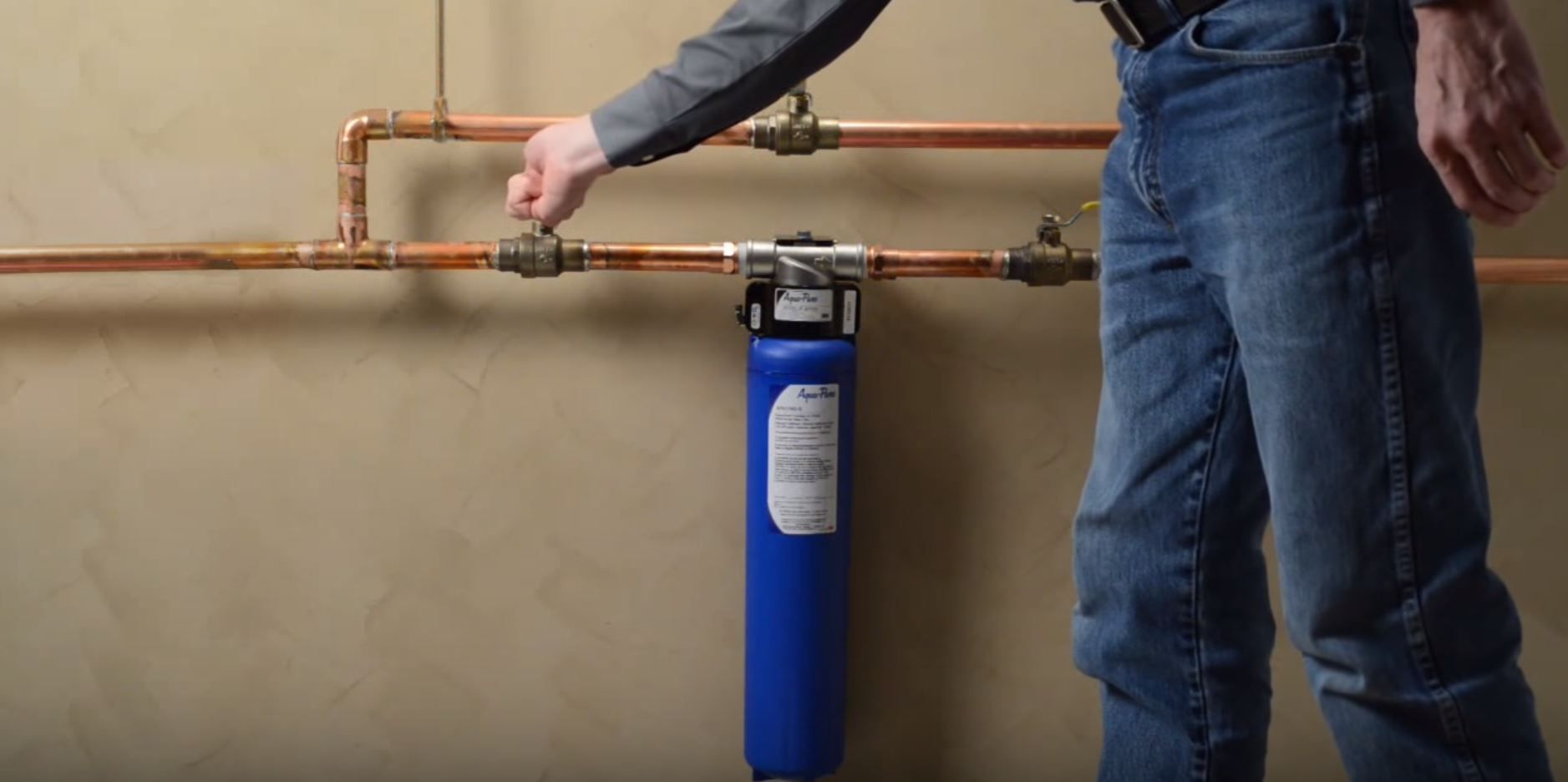 Wheelton Water Pre Filter Whole House Water Filter System Remove