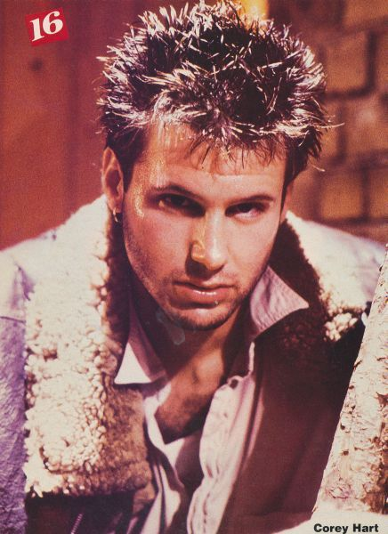 5c6313d97af COREY HART pinup - Sexy look! Pokey hair in 2019