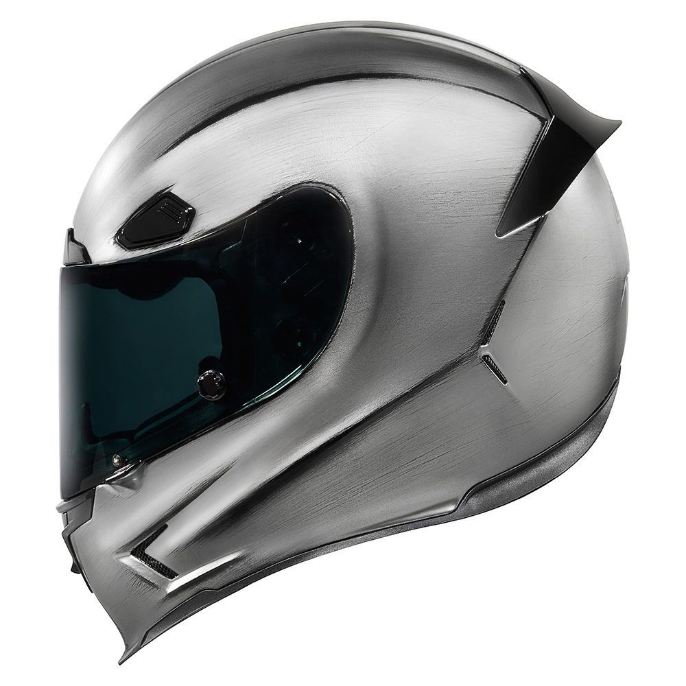 Quicksilver Silver Helmets Icon 1000 Go fast, look
