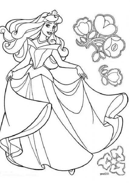 The Brilliant Stunning Aurora Coloring Pages Http Coloring