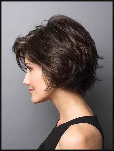Brenna By Rene Of Paris Hi Fashion Frisur Kurzhaarfrisuren Und Haar Einfache Frisuren Short Hair Styles Thick Hair Styles Hair Styles