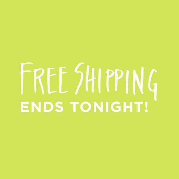Don't forget, free shipping ends tonight!! Good on all U.S. orders. Ends at 10pm PST. #bitteshop #grandopening #freeshipping