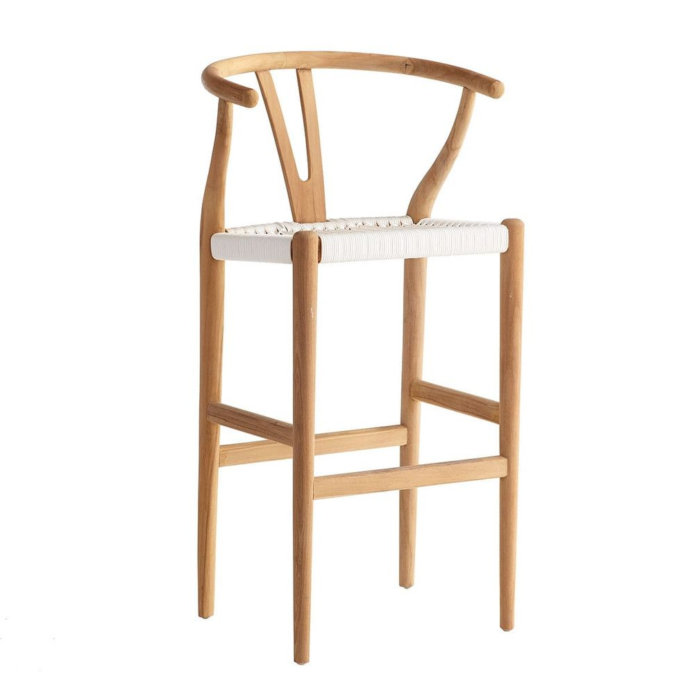 Woven Danish Bar Stool Teak Counter Stools Bar Stools Stool