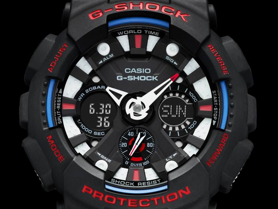 G-Shock Tri-Colour Series GA-120TR-3