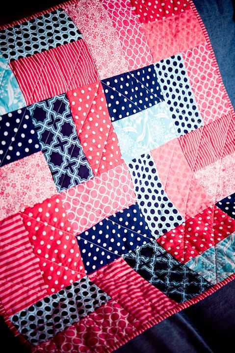 Need to make some of these up for Baby shower gifts...blues ... : easy baby boy quilt patterns - Adamdwight.com