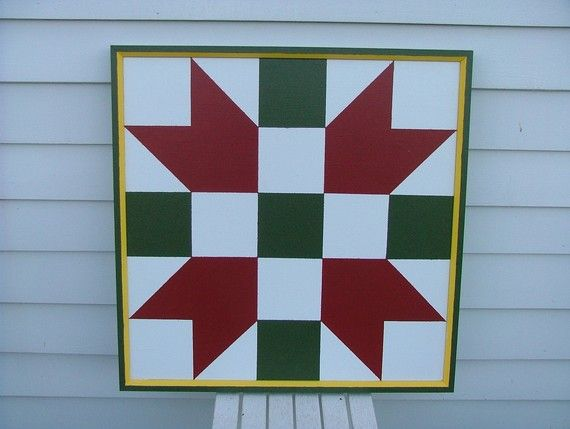 Painted Barn Quilt signs on SALE by TheFroggyStitchLady on Etsy ... : quilt barn signs - Adamdwight.com