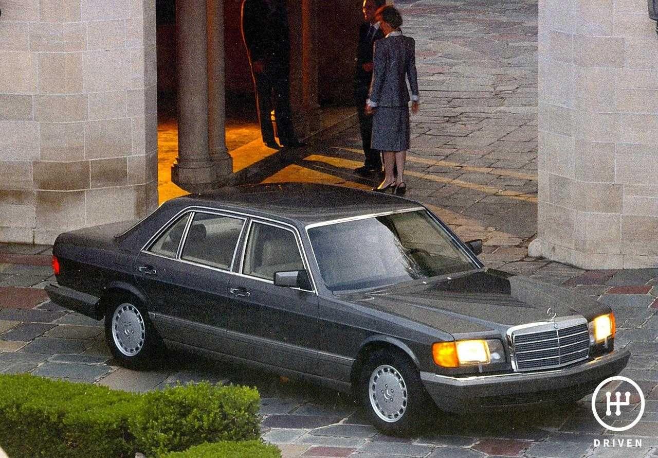 MercedesBenz 1979 SClass W126 Technical Features
