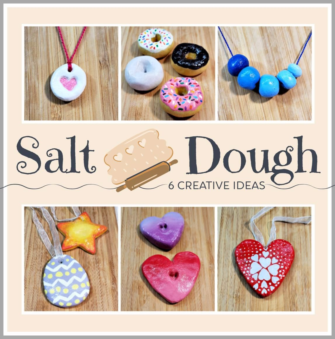 6 Easy Salt Dough Craft Ideas | Woo! Jr. Kids Activities