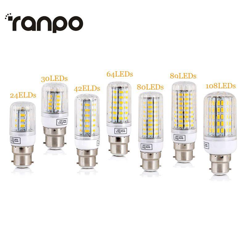 B22 Baionnette Led Feux De Mais Smd 5730 Ampoules A Economie D Energie 7 W 12 W 15 W 20 W 25 W Led Lampe Bombillas Lumiere Lampada Ampoule D Eclairage Energy Saving Bulbs Bulb Led Bulb