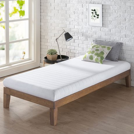 Spa Sensations 5 Inch Quilted Memory Foam Mattress White Twin