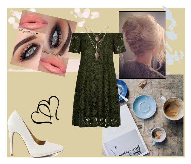 """""""Summer Casual"""" by musie-della ❤ liked on Polyvore featuring River Island, Qupid, Summer, dress and whiteheels"""