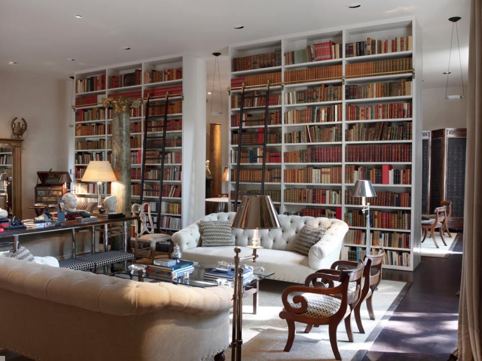 Interiors - Luis Bustamante Interior Design Studio | | Bookshelves ...