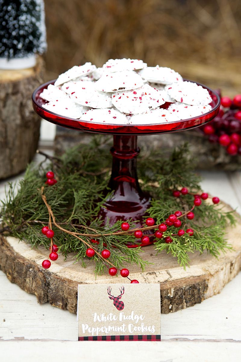 Christmas dessert table decoration ideas - 30 Awesome Winter Red Christmas Themed Festival Wedding Ideas Christmas Dessert Tableschristmas Table Centerpiecesholiday