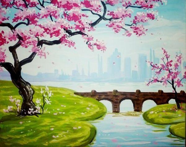 55 Easy Acrylic Painting Ideas On Canvas 2020 Gorsel Sanatlar Resimler Tablolar