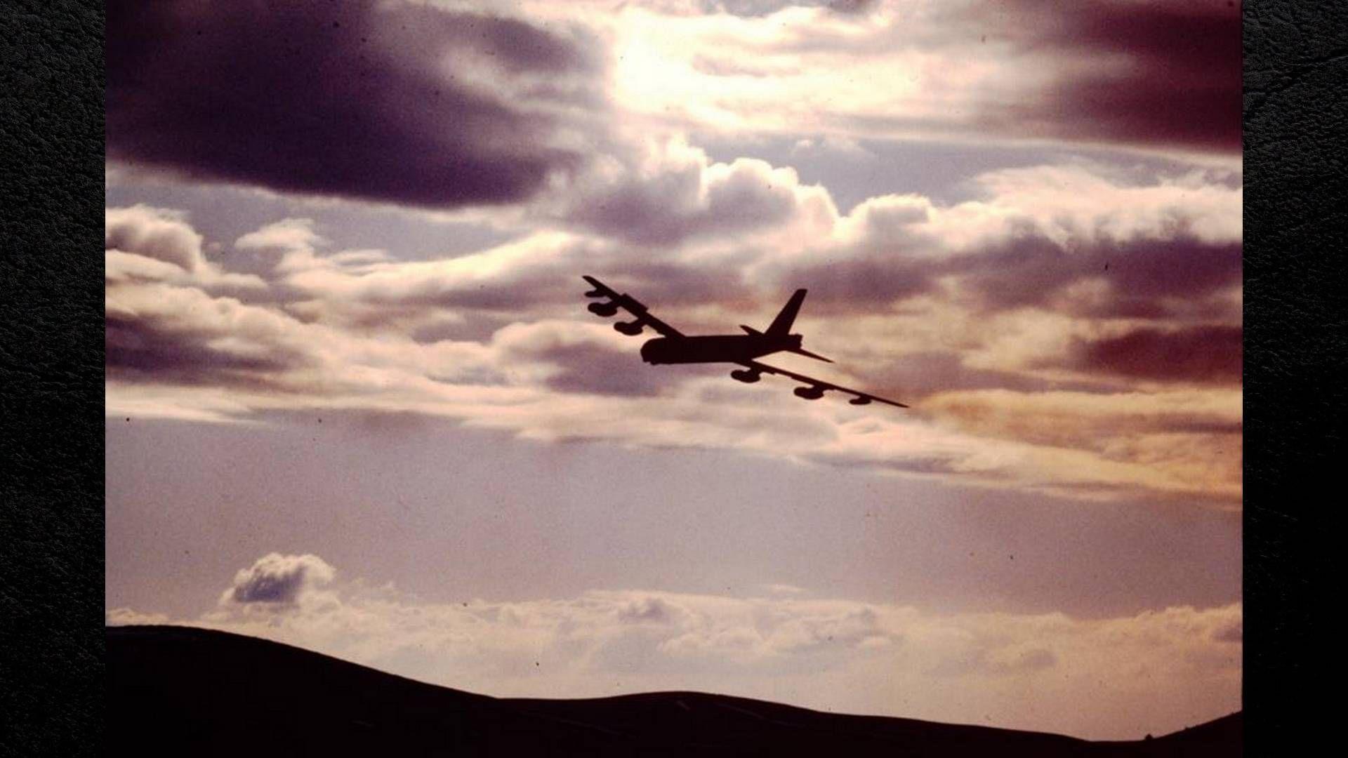 USAF B52 FAFB Alert Ramp
