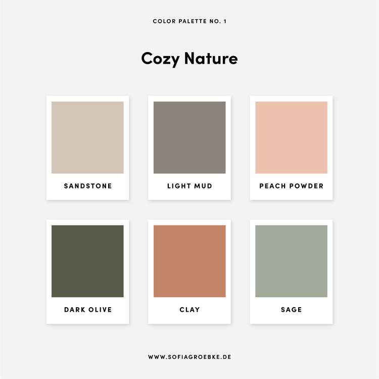 Farbtrends 2020 Grafikdesign und Interieurdesign +  5 Farbpaletten / Color Palettes