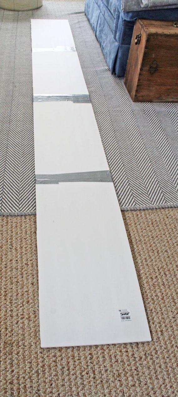 How To Make A Foam Board Cornice Www Rappsodyinrooms Com